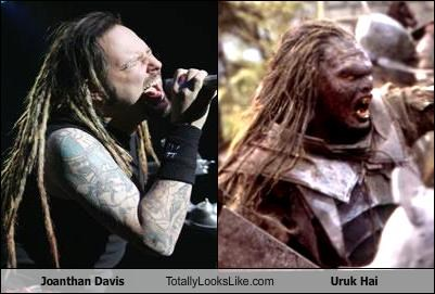 jonathan davis,Lord of the Rings,singers,uruk hai