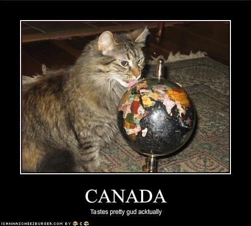Canada,nom nom nom,world domination