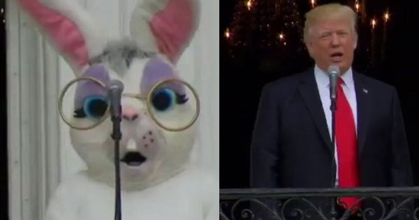 easter twitter donald trump roast politics - 1957125