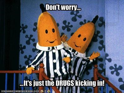 bananas in pajamas,childrens shows,drugslots-and-lots-of-drugs