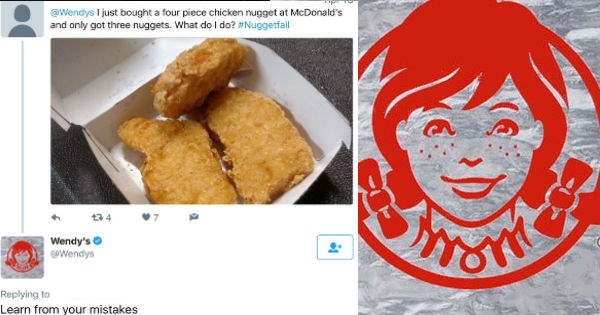 twitter wendys insult fast food