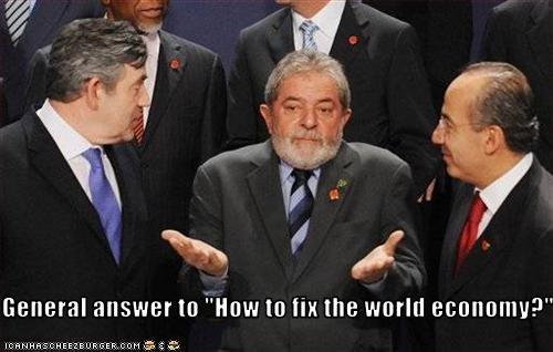 brazil economy gordon brown London Luiz Inacio Lula da Silva president prime minister UK - 1966409472