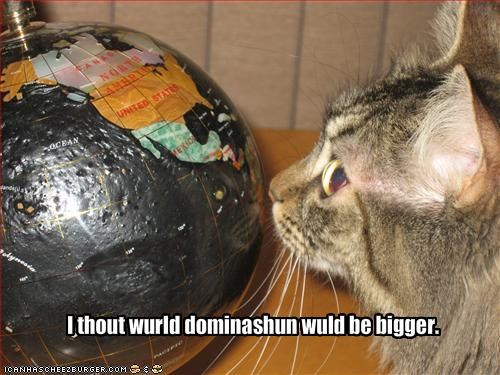 nom nom nom,world domination
