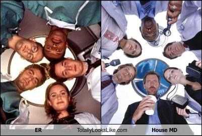 ER House MD medicine promo shots TV