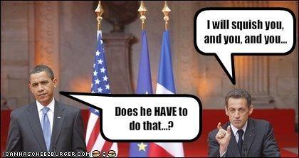 barack obama democrats france Nicolas Sarkozy president silly - 1970085632