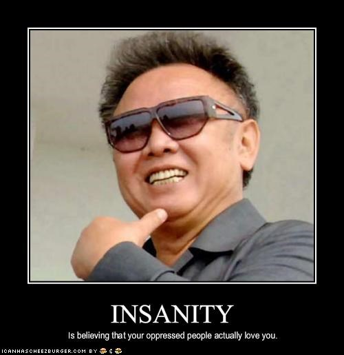 crazy dictator insanity Kim Jong-Il North Korea - 1980022528