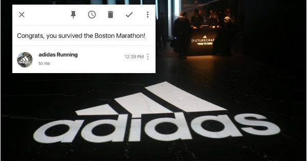 FAIL marathon boston united airlines adidas