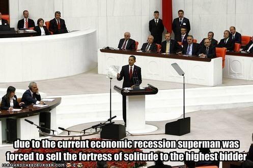 barack obama,democrats,Economics,president,superheroes