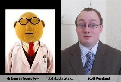 dr bunsen honeydew Totally Looks Like Scott Peasland