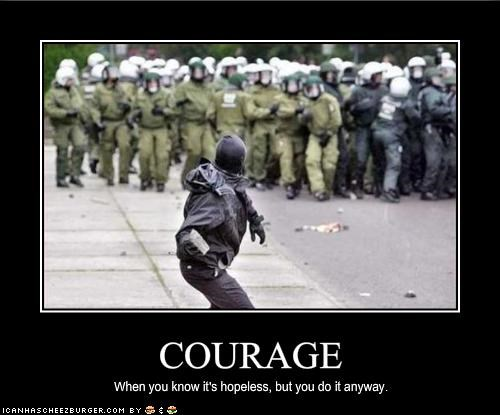 courage police protesters riot - 1992541952