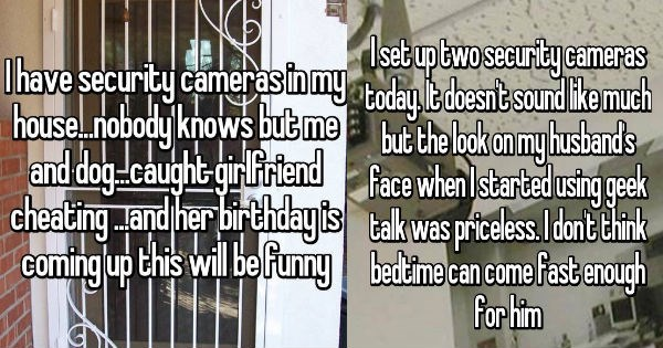 whisper confessions about the perils of installing security cameras that you may not have considered at first