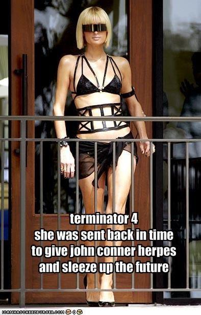 famous for no reason movies paris hilton terminator trash - 1993802496