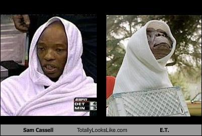 basketball,ET,movies,puppets,sam cassell,sports