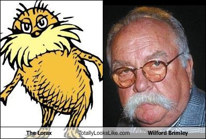 The Lorax Totally Looks Like Wilford Brimley