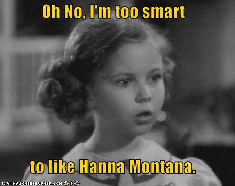 classic hollywood,hannah montana,shirley temple,teeny bopper