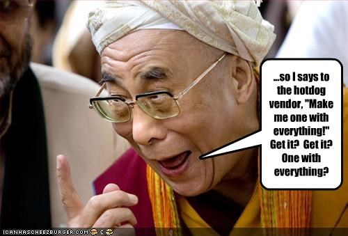 buddhism Dalai Lama jokes religion - 2001416448
