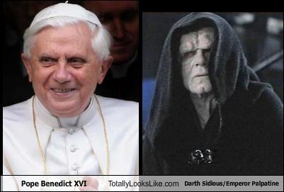 Pope Benedict Xvi Totally Looks Like Darth Sidiousemperor Palpatine