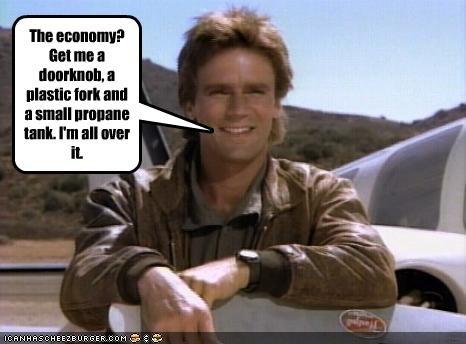Economics,macgyver,Richard Dean Anderson