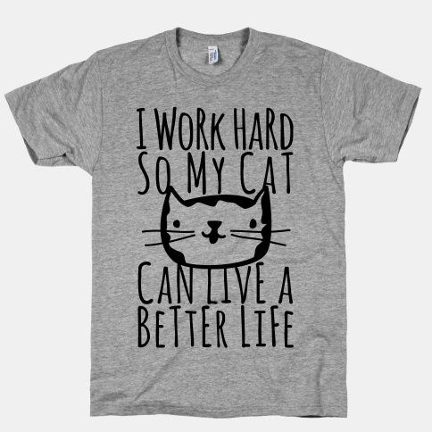 20 funny cat t-shirts for truly cat lovers