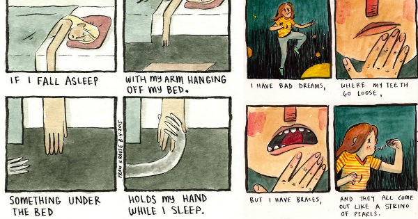 fear scared web comics - 2005765