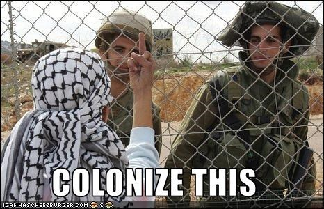 colonies Israel Palestine war