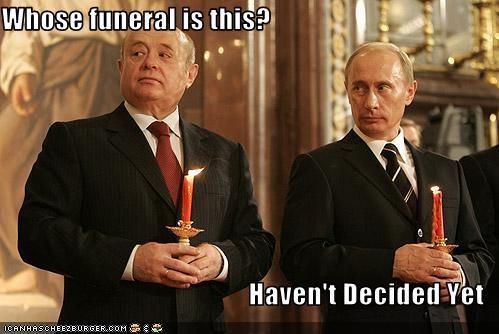 funeral president prime minister russia Vladimir Putin - 2013020416