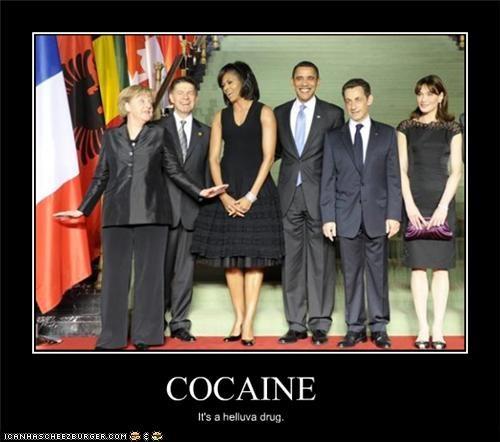 COCAINE It's a helluva drug.