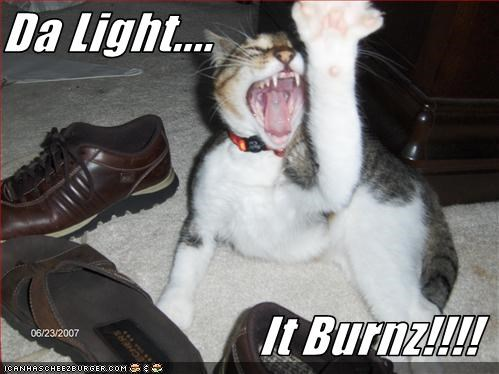 Da Light....  It Burnz!!!!