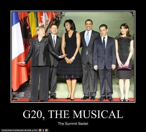 G20, THE MUSICAL The Summit Sextet