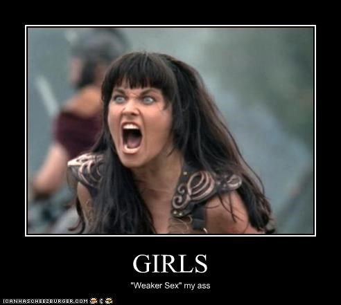 girls Lucy Lawless tough Xena - 2017047808