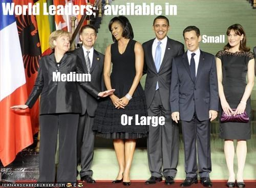 World Leaders: available in Medium Small Or Large