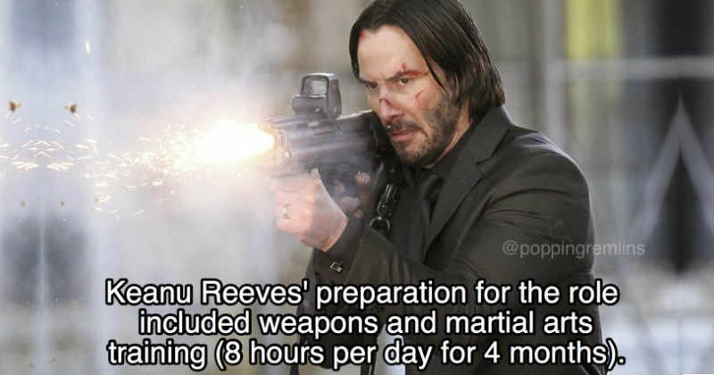 creating the john wick movie facts