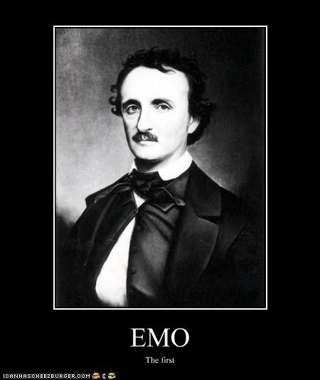 books,Edgar Allan Poe,emo,Historical,writer