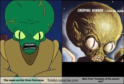 Aliens,animation,cartoons,futurama,morbo,movies