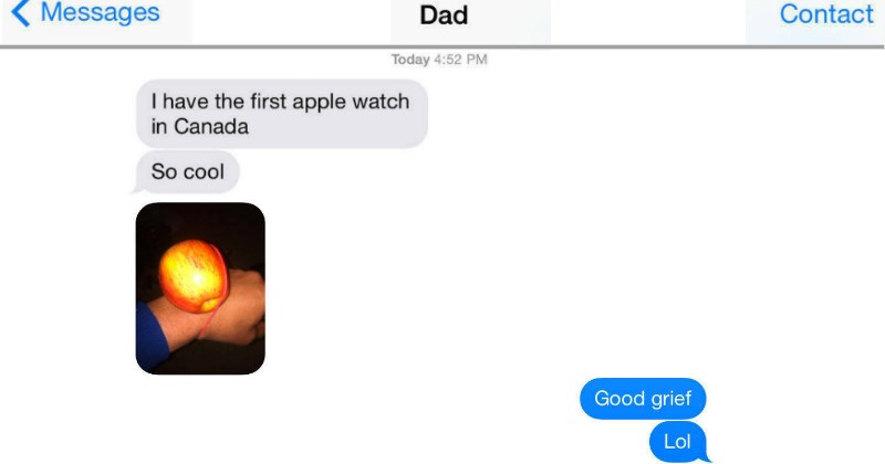 dads dad parenting trolling texting