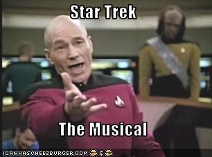musicals patrick stewart sci fi Star Trek TV - 2030426368