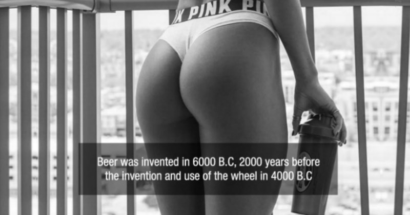 facts coupled with pics of good looking women