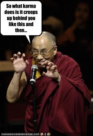buddhism Dalai Lama karma religion - 2033404160
