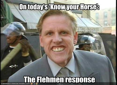 The Flehmen response On today's 'Know your Horse':