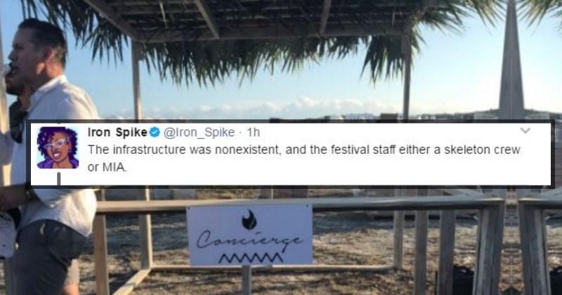 Live Tweets of Fyre Festival failure