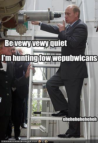 Be vewy vewy quiet I'm hunting fow wepubwicans eheheheheheheh