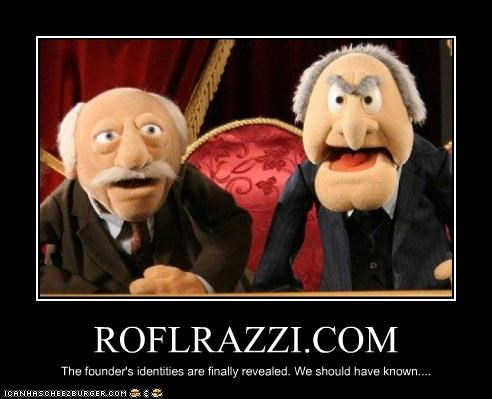 muppets rolfrazzi Statler and Waldorf The Muppet Show - 2045250816