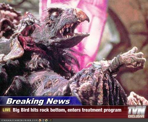 big bird dark crystal jim henson muppets rehab - 2047892224