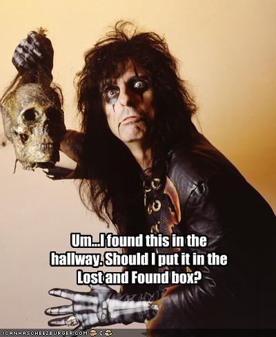 alice cooper Music rock stars skull - 2049911552