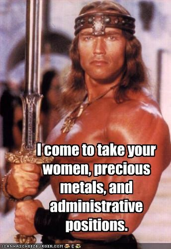 Arnold Schwarzenegger,Conan the Barbarian,movies,politicians