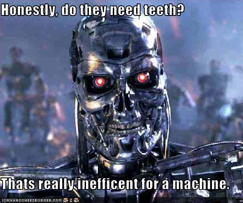 machines scary teeth terminator - 2051165440