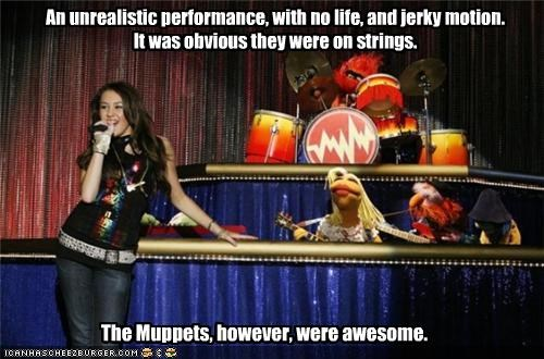 dr-teeth,miley cyrus,Music,puppets,the muppets