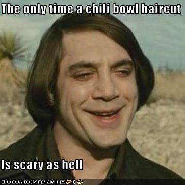 The Only Time A Chili Bowl Haircut Is Scary As Hell Cheezburger