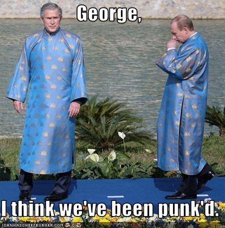 george w bush national costume president prime minister Republicans Vladimir Putin - 2055895808