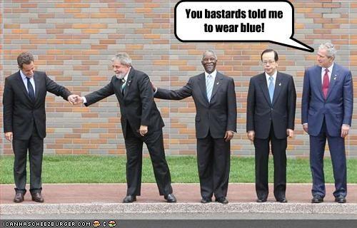 brazil france george w bush Luiz Inacio Lula da Silva Nicolas Sarkozy president Republicans - 2055901440